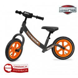 BERG Rowerek biegowy Biky Szary Pompowane koła do 40 kg
