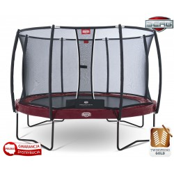 BERG Trampolina Elite+ 430 cm T-Series Twinspring Gold
